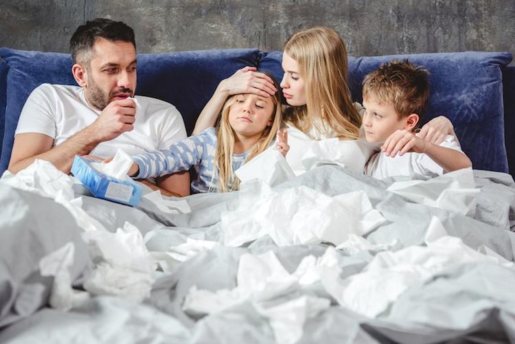 Volkskrankheit grippaler Infekt | © panthermedia.net /ArturVerkhovetskiy